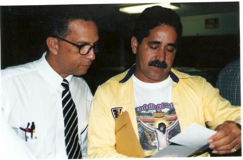 Diego Ledee y Cheo Ortíz