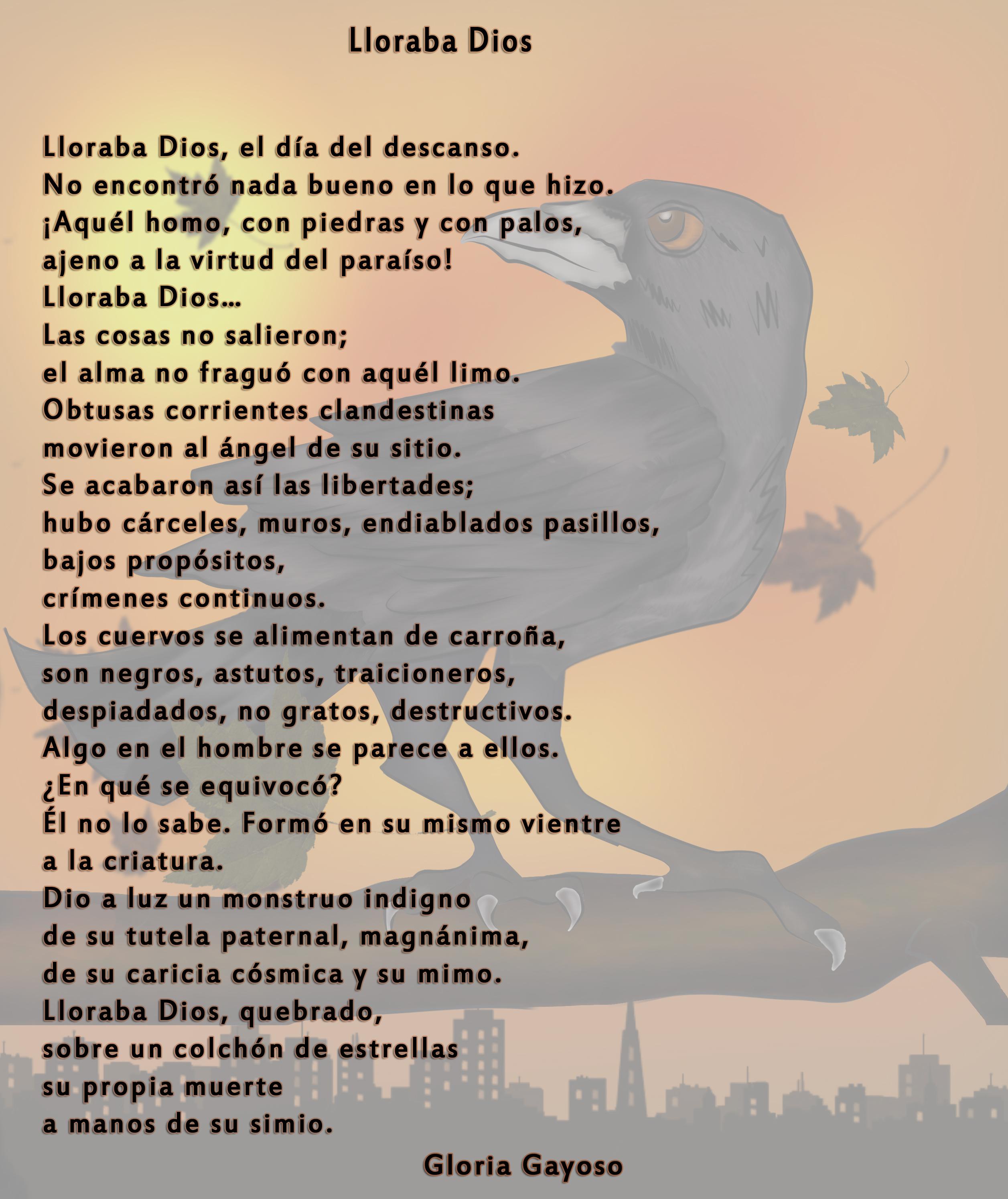 Lloraba Dios / Gloria Gayoso