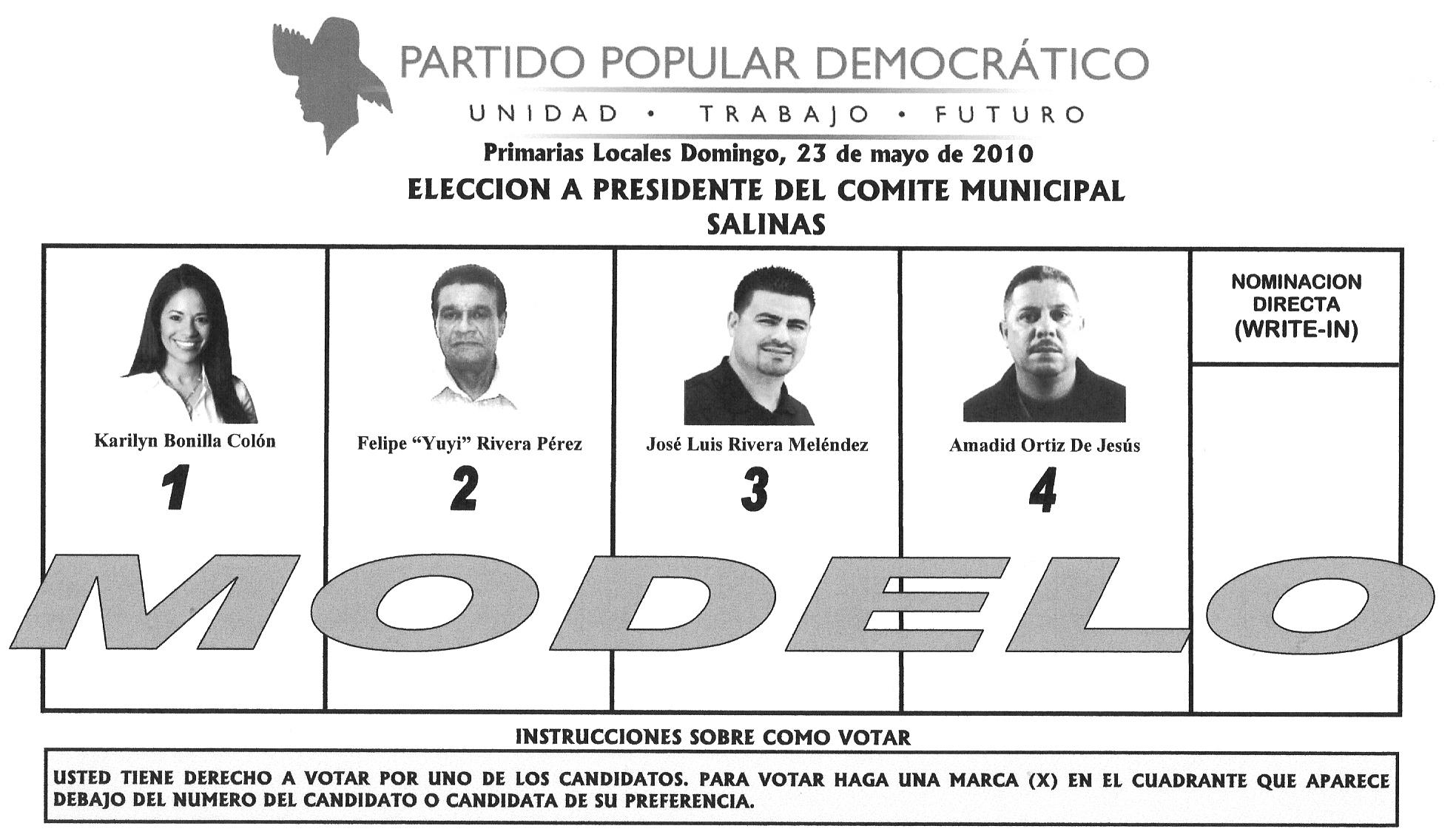 Elecciones para escoger quién ocupará la presidencia del PPD en ...