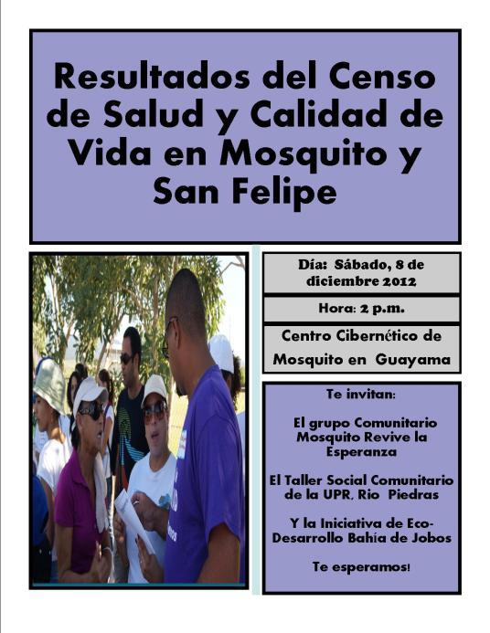 Promo Resultados Censo Mosquito 2