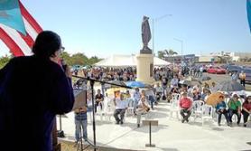 Inauguración Plaza Monumento Pedro Albizu Campos