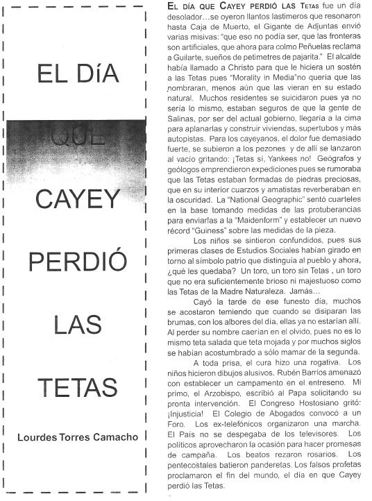 Tomado de la revista Alborada, año 1, no. 1, ago 2002-jun. 2003.