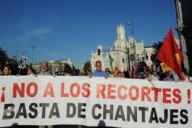 protestas por recortes