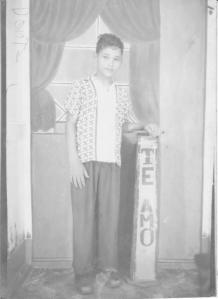 Dante A. Rodríguez Sosa, niñez 001