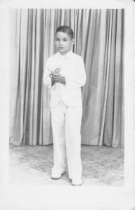 Dante A. Rodríguez Sosa, niñez 002