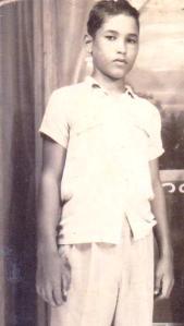 Dante A. Rodríguez Sosa, niñez 003