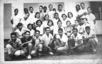 Grupo escolar de Salinas  1954 a 1955