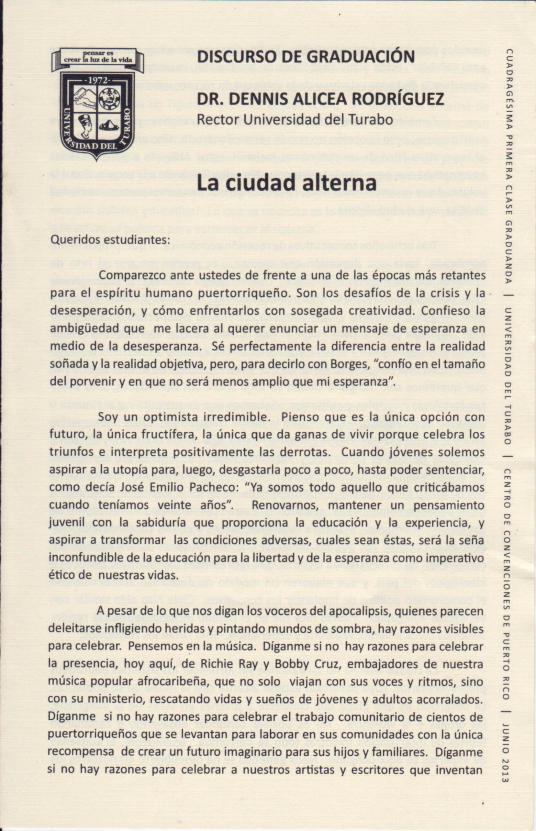 Discurso del Dr. Denis Alicea Rodríguez 001