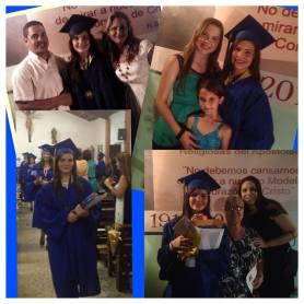 Graduación de Yamilka Rodriguez Cueva