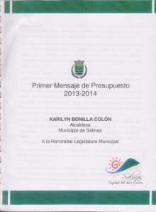 Mensaje de presupuesto 2013-2014 001 portada