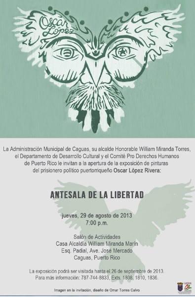 Exposición Antesala a la Libertad