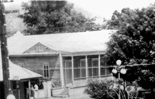 Casa en la calle Muños Rivera foto decada de 1940 001 copy
