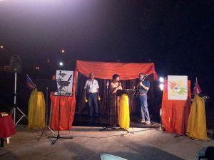 Noche de poesía en arroyo 2013