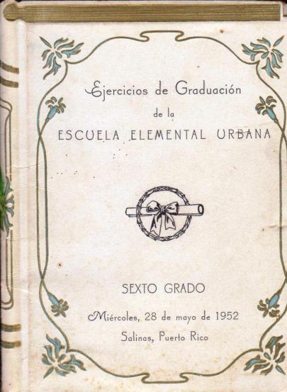 Graduacion 6to grado portada 1952 001