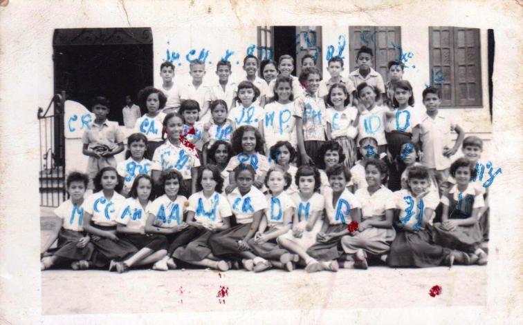 Grupo de 5to Grado Esc Godreau de Salinas de 1955 001