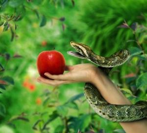Manzana Eva serpiente paraiso (1)