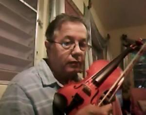 Pablo León Hernández violín