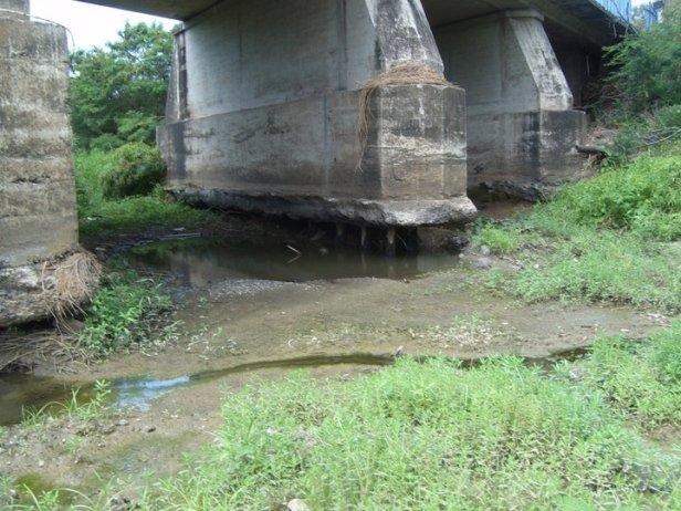 Puente sobre el Rió Niguas de Salinas 2008