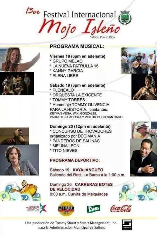 Festival del mojo Isleño 2014 2