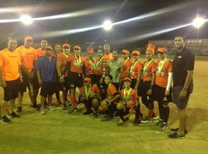 Liga Municipal de Sofbol Feminino torneo de 2014 Equipo La Margarita