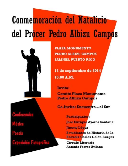 Actividad Albizu 2014-1