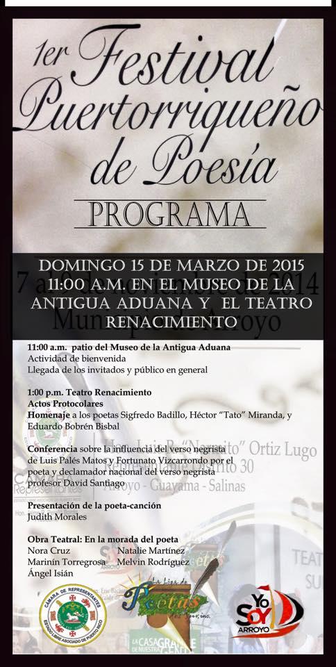 Festival de Poesía en Arroyo