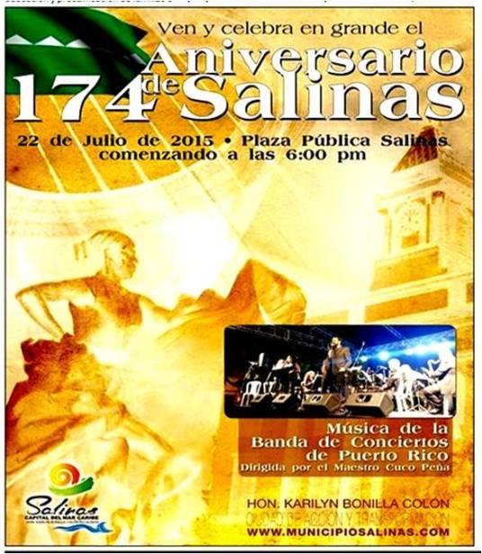Aniversario Fundación de Salinas 2015