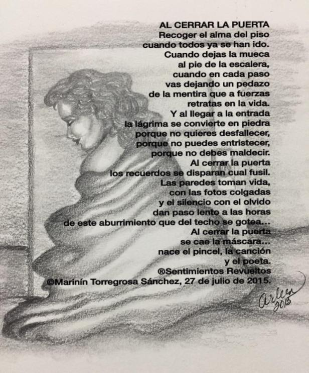 Poema al cerrar la puerta