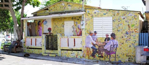 Mural Domino de Damaris Cruz f Damaris Cruz
